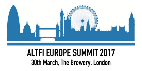 Altfi Europe Summit 2017 - The Brewery London