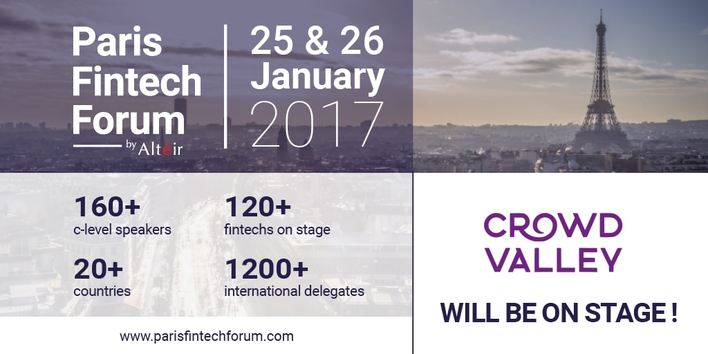 Crowd Valley at Paris Fintech Forum