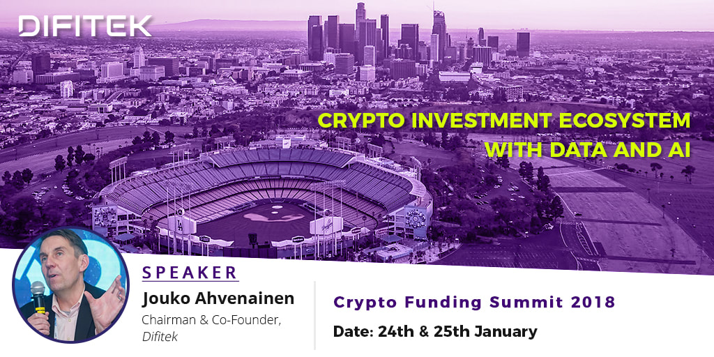 Jouko Ahvenainen - crypto investment ecosystem with data and AI
