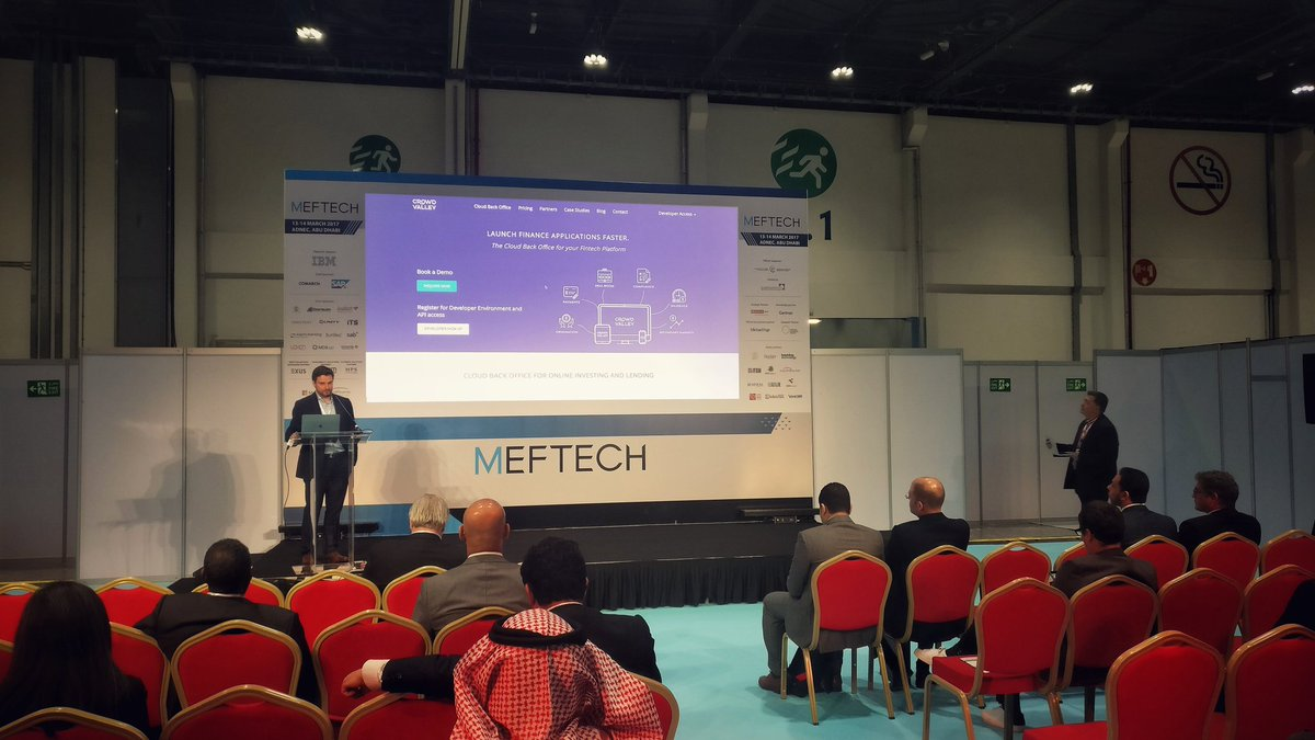 Picture of Paul Higgins talking at Meftech 2017